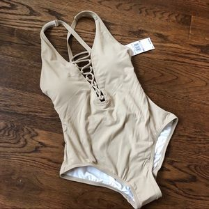 Chic Michael Kors One Piece Swimsuit - NWT